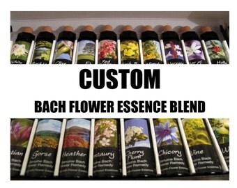 Custom Flower Essence Blend. Professional High Standard Bach Flower Essences. 10ml bottle, choose from 38 genuine remedies. free shipping