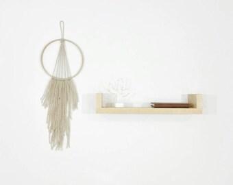 Floating Shelf - Wall Shelf - Wood Shelf - Maple Shelf - Modern Shelf - Modern Decor - Minimalist Decor - Home Decor - Home Decoration