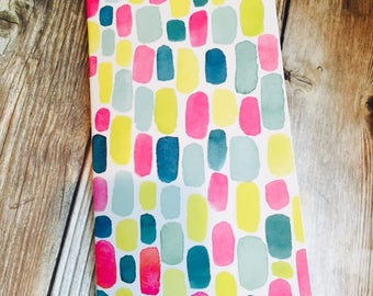 STONES Watercolor Pattern Traveler's Notebook Insert - Available in 9 sizes and 10 patterns