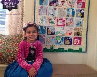 Huge Kids Ramadan Calendar with 30-day Large Gift Pockets