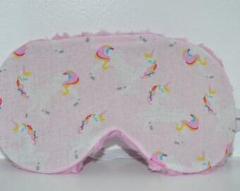 Unicorn Sleep Mask/ Women's Sleep Mask/ Kawaii Sleep Mask/Sleep Mask/Children's nap mask