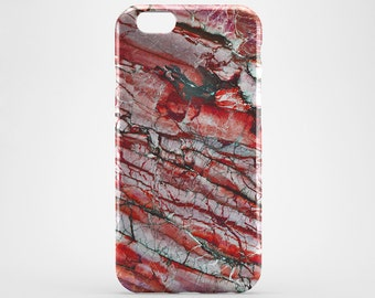 Trendy iPhone Case Red Marble iPhone Case Tile iPhone 7 Case Marble iPhone 7 Plus Case iPhone 6 Plus Case Marble Galaxy S6 S7 Case iPhone SE