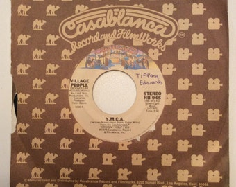 The Village People Y.M.C.A. And The Women Vintage Vinyl 45 1978