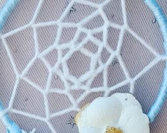 Dreamcatcher - Light Blue - Pink - Heart - One Of A Kind - Dream - BOHO - Bohemian - Wedding - Shower - Thank you - Favors - Gift