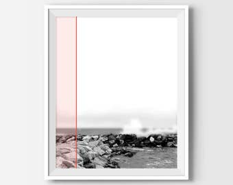 Office Decor, Office Wall Art, Black And White Photography, Photography Art, Beach Decor, Beach Photography, Beach Photo, Beach Wall Decor