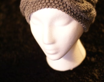 Hand Knitted Double Cable Headband