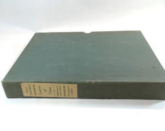 Walt Whitman Leaves of Grass Vintage Hardcover Slipcase American Poems Poets Literature Doubleday Doran NY 1940