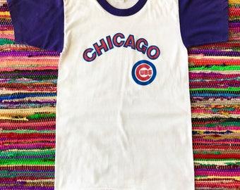Chicago Cubs, Chicago Cubs Shirt, Baseball, Baseball Shirt, Vintage Baseball