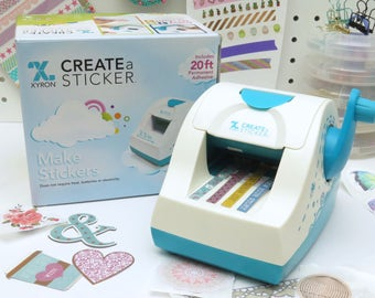 Xyron  X250 Create a Sticker Label Maker Adhesive for Planners Scrapbooking & Card Making