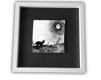 MINNALOUSHE Cat moon WB Yeats poetry
