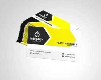 Business Cards (COOL & REFRESHING Template)