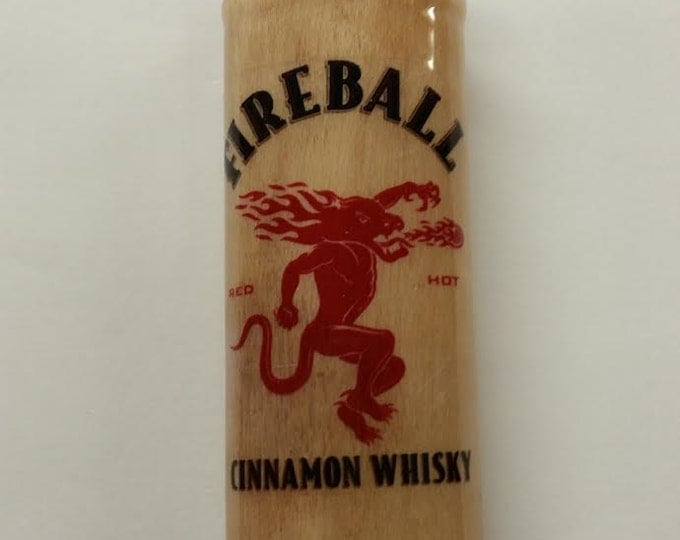 Fireball Cinnamon Whisky BIC Lighter Case Holder Sleeve Cover