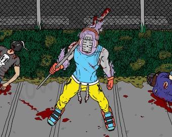 Fight - Art Print