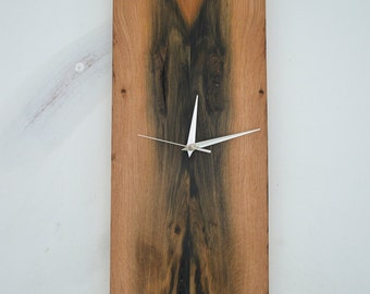 reclaimed oak sleeper clock