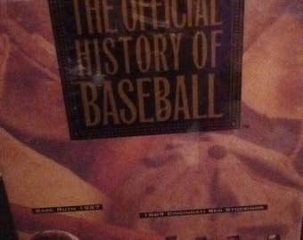 The Official History of Baseball VHS set Sealed