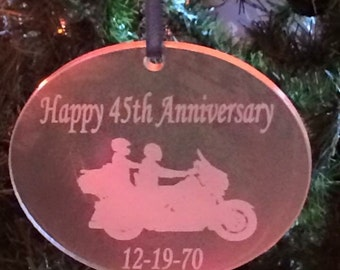 Create Your Own Ornament - Laser Engraved