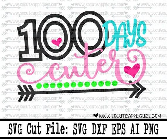 100 Days Of School Svg Back To School Svg