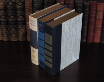 Hollow Book Safe - 3 Reader's Digests, Handcrafted, Magnetic Snaps, Upcycled Books, Library Decor, Secret Book, Handcrafted