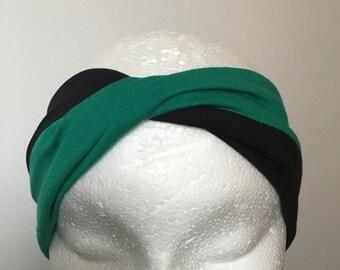 Twist turban headband.( approx width 9 cm )
