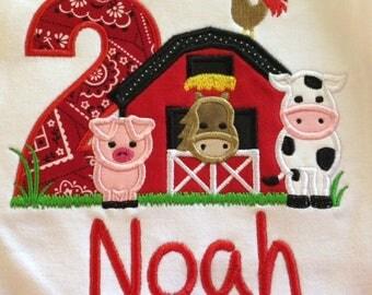 Farm Birthday Shirt