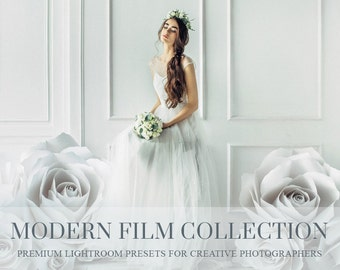 Modern Film Lightroom Presets for Lightroom 4-6 and your Creative Cloud version - vsco - film inspired