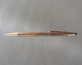 Mid Century Cross Mechanical Pencil 1/20 14k Gold Filled Classic Century Sleek