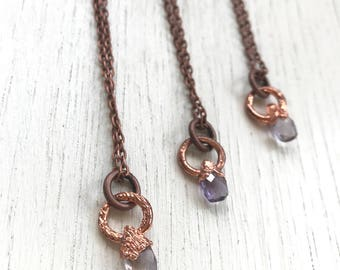 Les Petites Choses- Mini Ametrine necklace