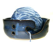 Sale Hand Thrown Pottery Yarn Bowl knitting bowl Knitter Hand Made crotchet gift for grandma Mom crafter