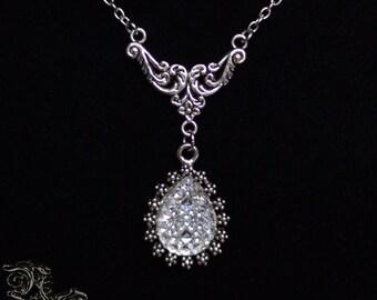 "Necklace "" Valentina "" - Medieval, renaissance, baroque, classic, wedding"