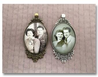 Custom Family Heirloom Photo Ornament