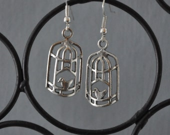 Bird Cage Earrings