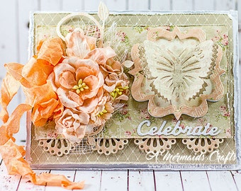 Handmade Celebrate Birthday/Promotion/Graduation Card
