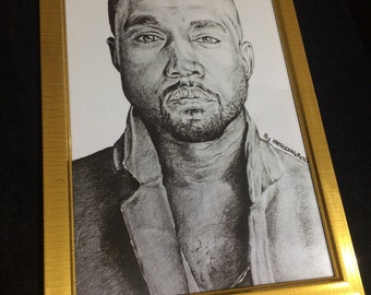 Kanye West (Framed Artwork)