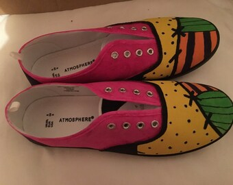 Handmade Sally Nightmare Before Christmas inspired Shoes