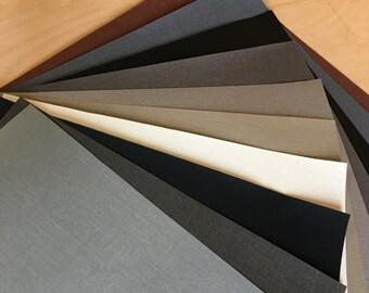 "5 Pack - 14"" x 9"" - Bookcloth Bundle - Neutrals"