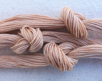 1 skein avocado dyed perle cotton thread size 8 SALE 25% off COUPON CODE:summersale17granada