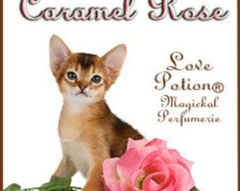 THREEBIES! Lot #421 - Lindee's Caramel Rose, Pinky Sweet, M's Bday Dessert - Love Potion Magickal Perfumerie