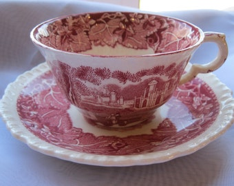Lovely Rich Mason's Vista England Teacup and Saucer
