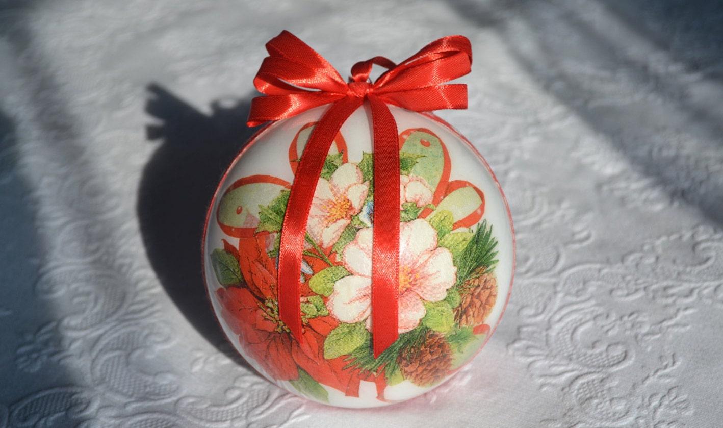 #AD2B1E Decoupage Christmas Ball/decoration For The Christmas 6365 décoration noel découpage 1418x839 px @ aertt.com