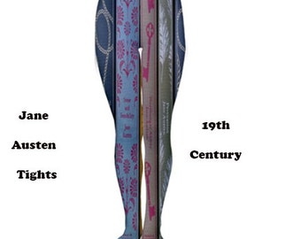 19th Century tights, tights, fashion, 19 century, jane austen, fun, books, literature, pride and prejudice