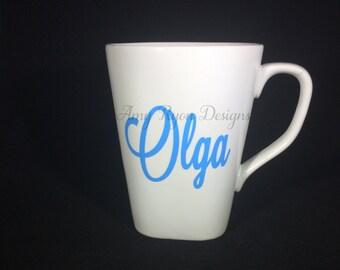 Personalized coffee mug, Custom Coffee Mug, Personalized Coffee Cup, Custom Coffee Cup, Bridal Party Gifts, Bridal Gift, Coffee Mug