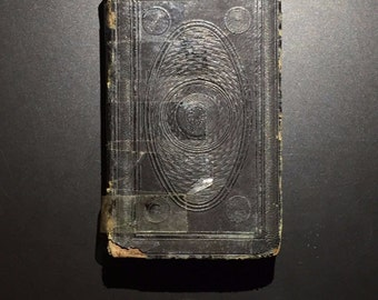 Rare Miniature New Testament Translated from Greek, American Bible Society, 1853