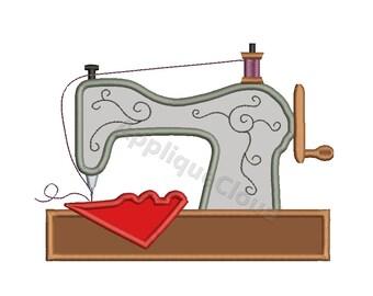 Sewing machine applique design ~ Sewing machine applique applique ~ INSTANT DOWNLOAD digital file
