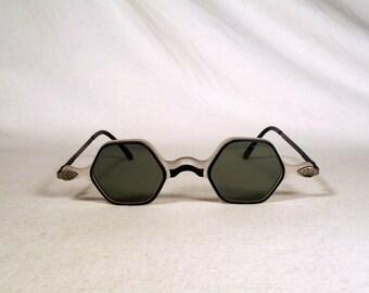fabulous vintage sunglasses lunettes eyeglasses TEXSO carved frame france