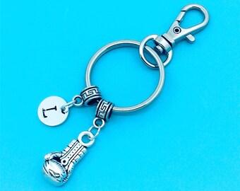 Boxing Glove Keychain, Boxing Glove Key Chains, Custom Any Charm, Boxing Glove Keyring, Personalized Keychain, Boxing Glove Key Rings Gift