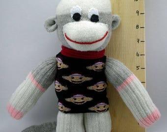 Sock Monkey (in sock monkey sweater)