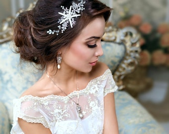Beach Wedding Starfish Accessories Hair Jewelry Bridal Headband Destination Mermaid