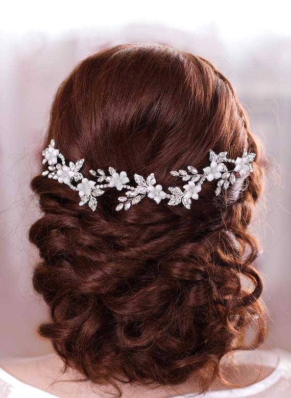 Bridal Hair Jewelery Crystal headband Bridal hair flowers Wedding Headband Wedding Headpiece Rhinestone headpiece Crystal Hair Accessories