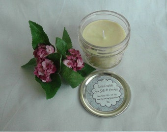 Sea Salt & Orchid Soy 4 oz Jam Jar Candle