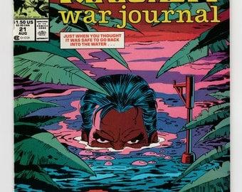 Punisher War Journal #21 or #22 or #23 or #28 Choice Near Mint 1990-1991 Comic Book Frank Castle Marvel Comics Crime Fighting Vigilante Hero
